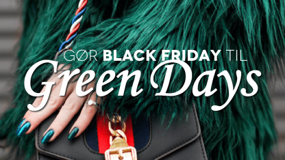 Green Days i Danmission Genbrug som modsvar til Black Friday