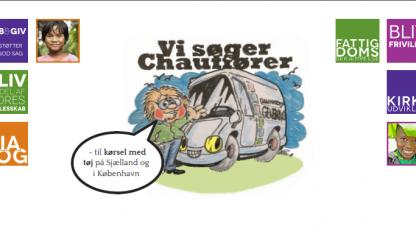 Frivillige chauffører søges til kørsel i Storkøbenhavn/Sjælland