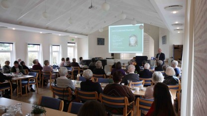 75 frivillige fra Danmission Genbrug på skolebænken med Jens Guldsmed-Thomsen