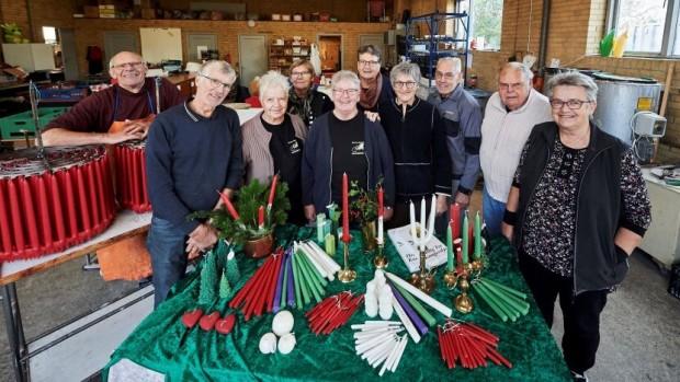 Populære julelys lyser for mange