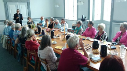 Frivillige fra Københavnsvej besøgte hovedkontoret