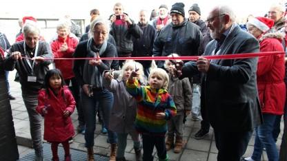 Frivillige slog dørene op til nye lokaler i Kvaglund